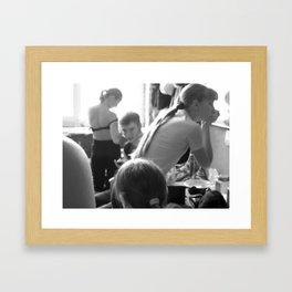 Backstage 1 Framed Art Print