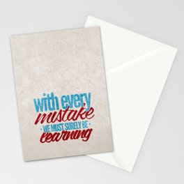While My Guitar Gently Weeps.  Stationery Cards