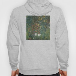 Gustav Klimt - Farm Garden with Sunflowers Hoody