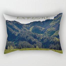 EXPLORE - One Rectangular Pillow