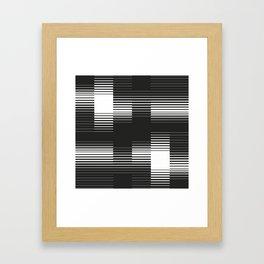 Lines #2 Framed Art Print