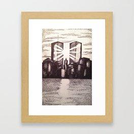 Twin Towers 9/11 Framed Art Print