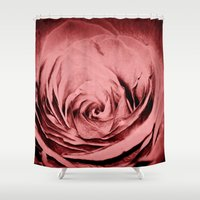 passion Shower Curtains featuring Passion by Jesus Lara