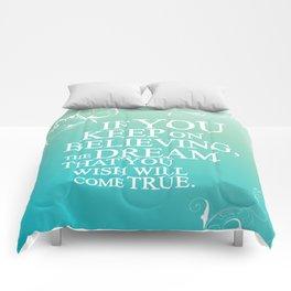 believing.. cinderella quote Comforters