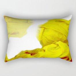 Yellow Ink Rectangular Pillow