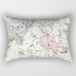 Celestial Atlas Plate 3 Alexander Jamieson, Perseus and Andromeda Rectangular Pillow
