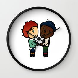 Wylan x Jesper - Six of Crows / Crooked Kingdom (B) Wall Clock