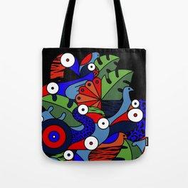 Jungle birds Tote Bag