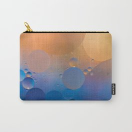 Oil and Water Abstract Carry-All Pouch