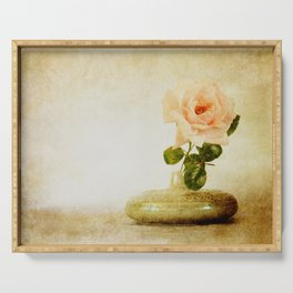 Vintage Rose  - JUSTART © Serving Tray
