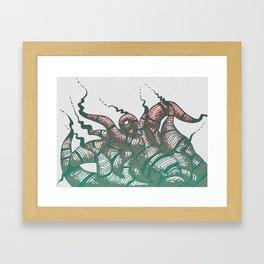 Interlocking Framed Art Print