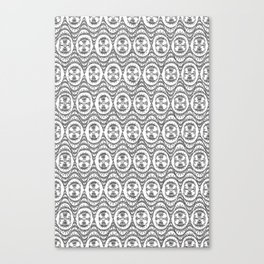 Downtown Doodler: Chrysler Building Archi-doodle Canvas Print