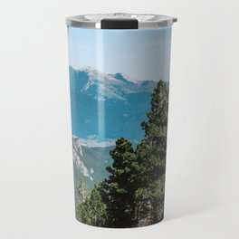 Treeline in the French Pyrénées Travel Mug