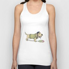 A Painting Dog Unisex Tank Top