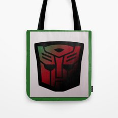 Transformers Generation 1: Rub Sign: Autobot Tote Bag