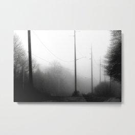 fogggg Metal Print