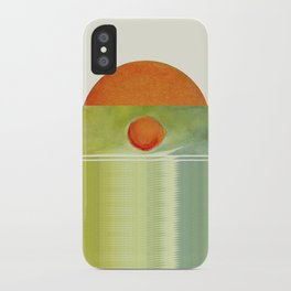 green 1 | digital sessions iPhone Case