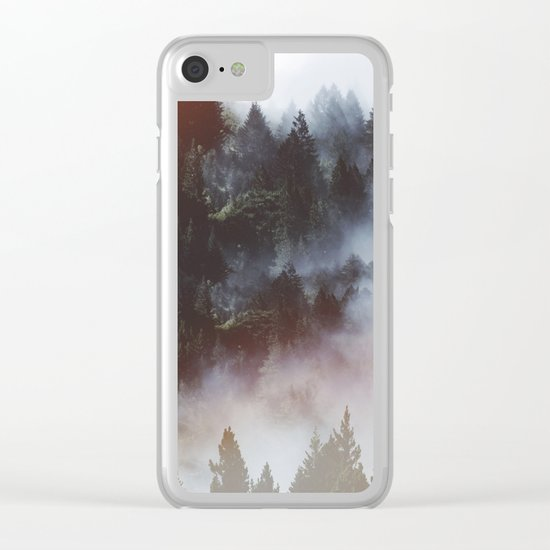 Stranger things Clear iPhone Case