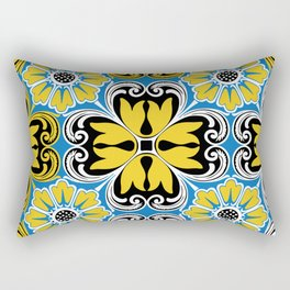 Azulejo portugues 5 Rectangular Pillow