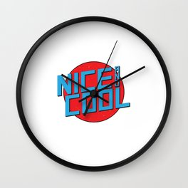 Nice And Cool Wall Clock