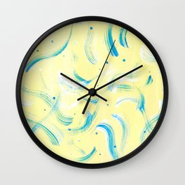 Gentle Abstract Pattern Wall Clock