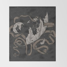 Night falling  Throw Blanket