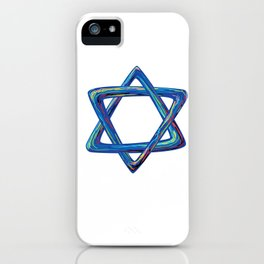 Shield of David. Star of David iPhone Case