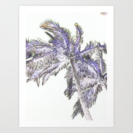 Palm abstract Art Print