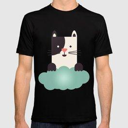 Cat Watching T-shirt