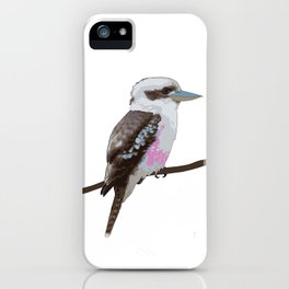Kookaburra, Kingfisher Bird iPhone Case