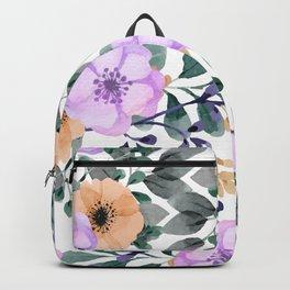 FLOWERS WATERCOLOR 21 Backpack