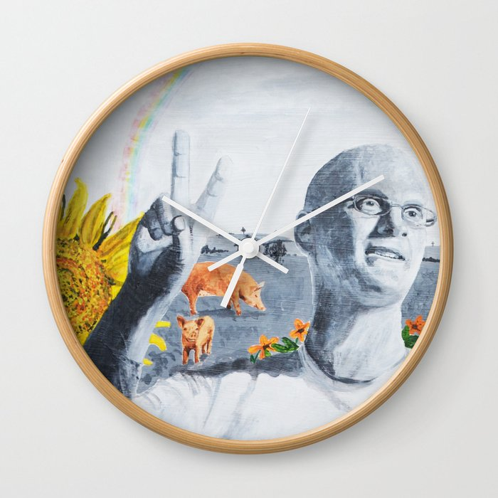 Gary Yourofsky Wall Clock
