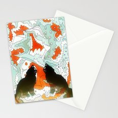 Cats Collaboration Stationery Cards