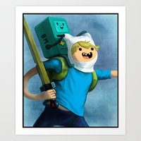 beemo Art Prints featuring Mathematical! - 1 of 3 by sindresolhaug