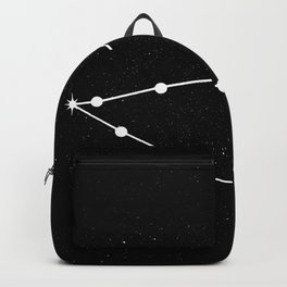 CAPRICORN (BLACK & WHITE) Backpack