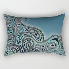 Coastal Glow Rectangular Pillow