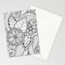 Creative flowers Stationery Cards