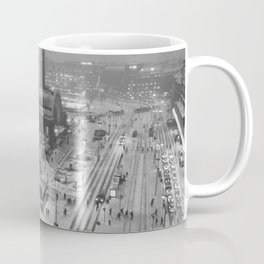 Finland City (Black and White) Coffee Mug