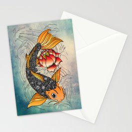 Koi Stationery Cards
