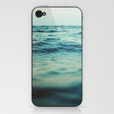 Aqua Sea iPhone & iPod Skin