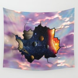 Abstract Worlds Wall Tapestry