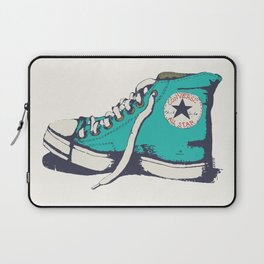 Conversation Aqua Laptop Sleeve