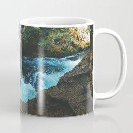 Exploring Sahalie Falls Coffee Mug