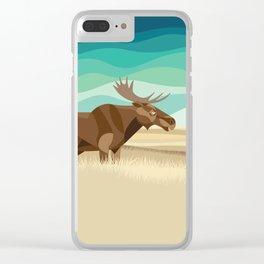 Prairies Clear iPhone Case