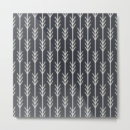 ARROW MIDNIGHT Metal Print