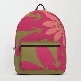 Vector Flower 106 Graphic Art Print Backpack