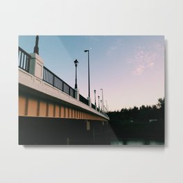 Richland Bridge Metal Print