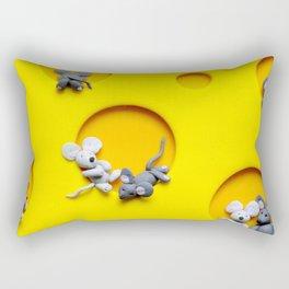 Cheezy Mouse Rectangular Pillow