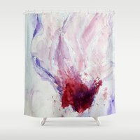 magnolia Shower Curtains featuring Magnolia by Kay Weber