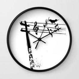 Rogue Crow Wall Clock